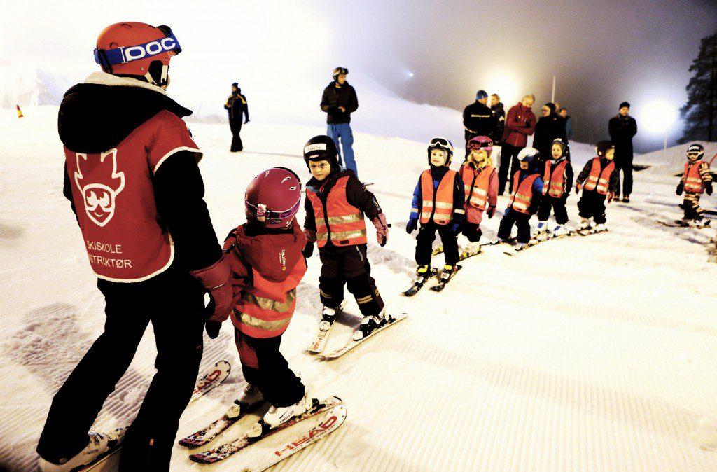 Alpinskole i Kolsåsbakken